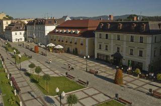 Hotel CASPAR Jelenia Góra - Cieplice Z lotu ptaka