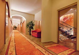 Hotel CASPAR Jelenia Góra - Cieplice korytarz
