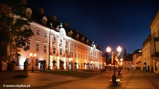 Hotel CASPAR Jelenia Góra - Cieplice Cieplice nocą