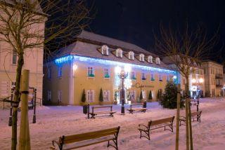 Hotel CASPAR Jelenia Góra - Cieplice Cieplice zimą