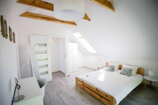 KASZUBSKA PRZYSTAŃ Jastrzębia Góra Sypialnia na piętrze ( domek 1A i 2A )