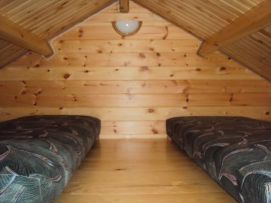 Drewniane domki letniskowe  Dębina