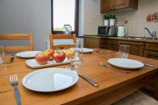 Pokoje Gościnne STOKROTKA Karwia Strefa kuchni