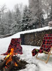 Willa DĄBRÓWKA Karpacz Miejsce na ognisko