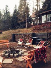 Willa DĄBRÓWKA Karpacz miejsce na ognisko i grilla