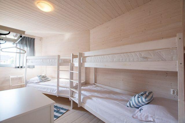 Apartamenty Łódź Wikingów Rowy sypialnia druga: apartament 8 osobowy