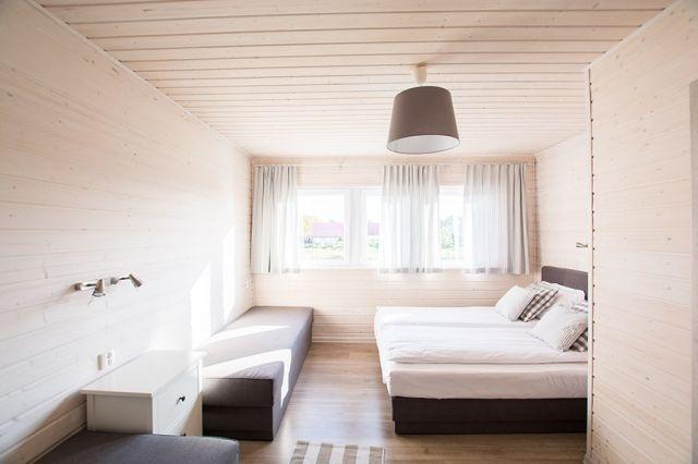 Apartamenty Łódź Wikingów Rowy sypialnia druga: apartament 6 osobowy