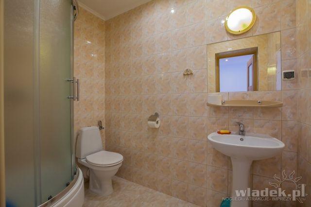 Willa MILENA Władysławowo łazienka przy każdym pokoju