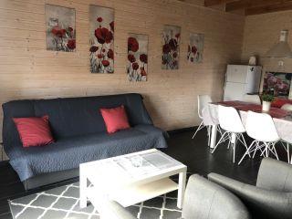Domki KALIPSO Sarbinowo domek czerwony nr 4