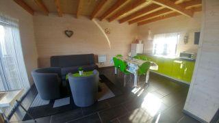 Domki KALIPSO Sarbinowo domek nr 1 zielony