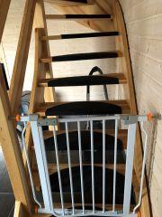 Domki KALIPSO Sarbinowo bramki przy schodach