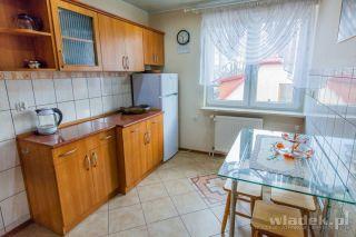 Pokoje JADWIGA Władysławowo Kuchnia w apartamecnie