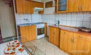 Pokoje JADWIGA Władysławowo Kuchnia w apartamencie