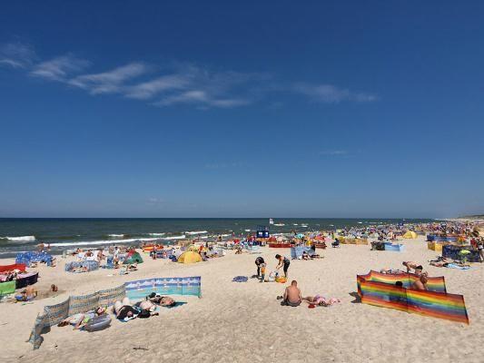 RODOS Domki i Apartamenty - blisko morza Rowy plaża w rowach