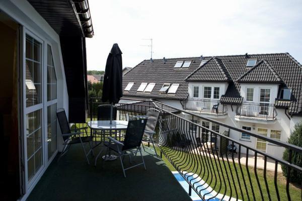 Kompleks wypoczynkowy Europa-SPA Trzęsacz Apartament de lux - taras