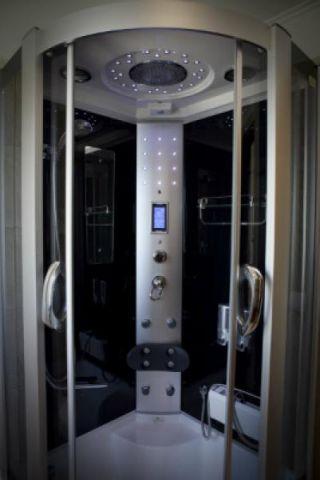 Kompleks wypoczynkowy Europa-SPA Trzęsacz Apartament de lux  - łazienka
