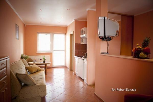Kompleks wypoczynkowy Europa-SPA Trzęsacz Apartament - studio