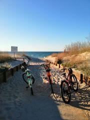 Domki i Pokoje PLAŻA KLUB Dziwnów rowery z naszej wypożyczalni