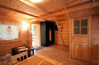 OW SZTIL Pobierowo Pokój w domku drewnianym