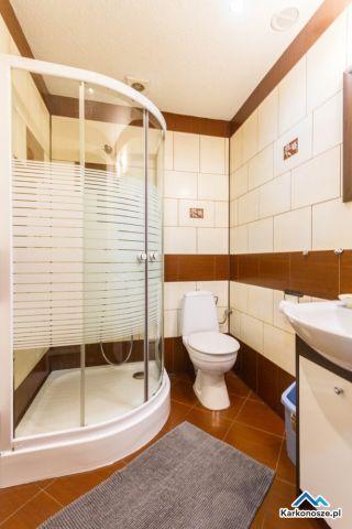 Domki AGRO RANCHO Podgórzyn k/Karpacza łazienka bungalow