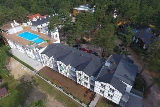 Apartamenty Blue Marine Poddąbie Poddąbie widok budynku z lotu ptaka
