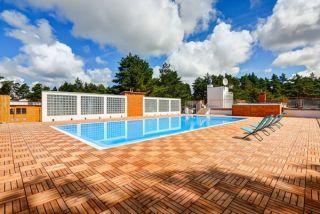 Apartamenty Blue Marine Poddąbie Poddąbie basen zewnętrzny