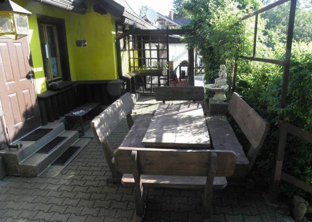 Dom jak dawniej Szklarska Poręba Taras - stół biesiadny  dla 11 osób