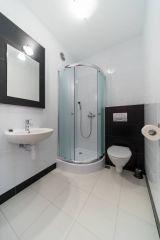 Pokoje i Apartamenty DEL MARE Jastrzębia Góra łazienka