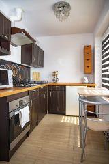 Pokoje, Apartamenty i Domki Angelika Swarzewo kuchnia w apartamencie