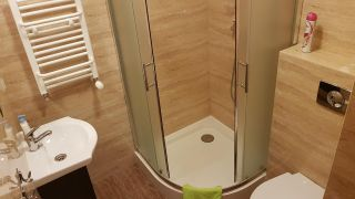 Willa Amber Rowy Apartament łazienka
