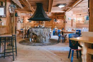 Domki i Pokoje JAVORINA Zakopane Restauracja-wnętrze
