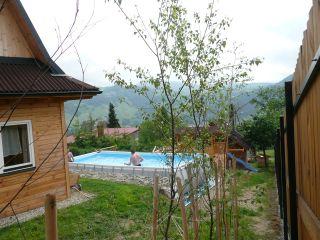 Urokliwe domki góralskie Piwniczna-Zdrój Basen letni - 6