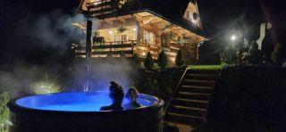 Siumno Chatka Luxury Chalet domek z ruską balią Murzasichle