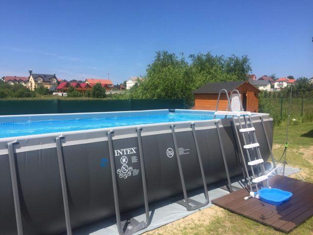 Domki SŁONECZNY PRZYSTANEK Jarosławiec basen z podgrzewaną wodą