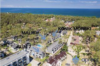 APRENT DOMY Pobierowo Pobierowo Apartamenty Sun7, Malibu i Konik Morski