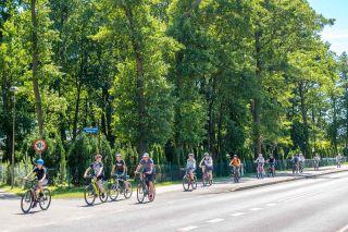 Pokoje FREGATA Dąbki Ścieżki rowerowe