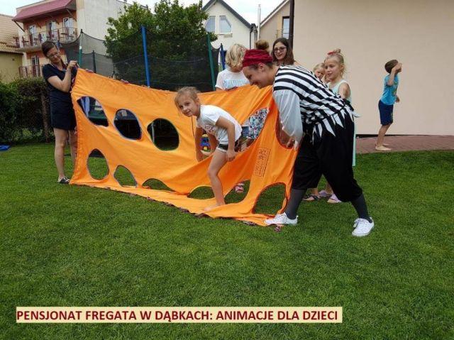 Pokoje FREGATA Dąbki Zabawy we Fregacie