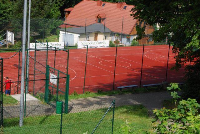 Apartament U ANTONIEGO Szklarska Poręba Boisko do koszykówki