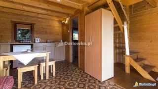 Domki letniskowe NEVADA Darłówko Aneks kuchenny w domku standard