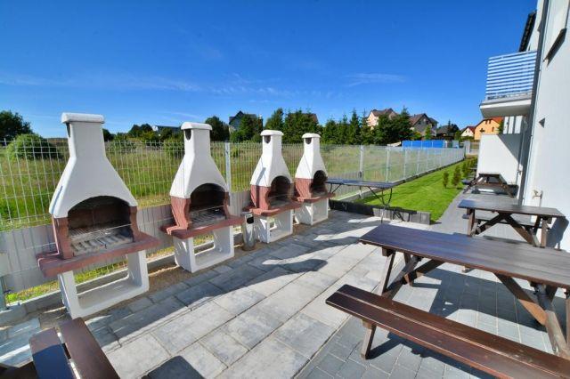 Domki Apartamentowe i Pokoje SOFIA Jarosławiec grill