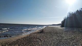 Domek Letniskowy JUSTYNA Jastrzębia Góra-Tupadly plaża