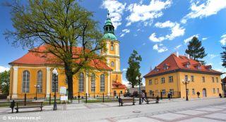 Pokoje i apartamenty KANTORÓWKA  Cieplice Ewangelicki Kościół Zbawiciela 1777