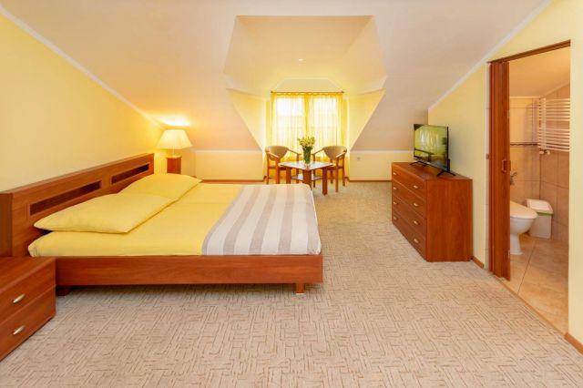 MARYNARSKI Apartamenty Darłówko Pokój 2 os. bez balkonu, poddasze