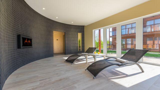Domki apartamentowe BUENO Dąbki Strefa odpoczynku