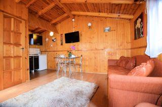 Domki Perłowe Dąbki Domek 4 osobowy -salon