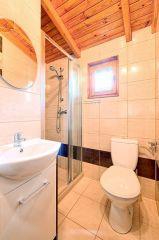 Domki Perłowe Dąbki Domek 4 osobowy - łazienka