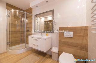 DELFIN Międzywodzie łazienka apartament