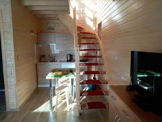 Domki Letniskowe DELFIN Wicie Domki Delfin - Studio LUX z piętrem - Pomieszczenia na parterze