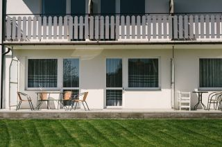 Dom Wczasowy OSKAR Karwia Apartament nr.2 taras