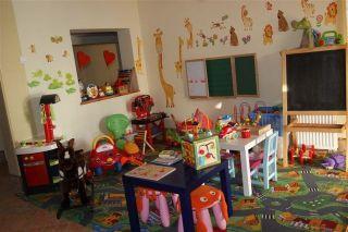 Dom Wczasowy Gród Piastów Dąbki kącik zabaw